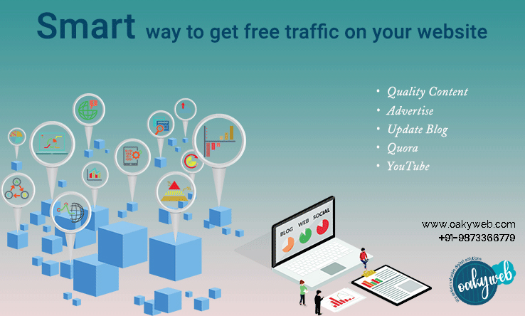 Increase Website Traffic- Oaky Web